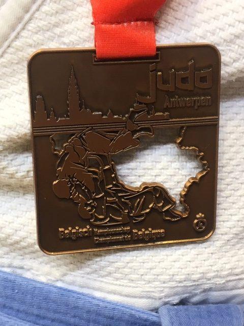 Belgisch Kampioenschap Judo 2019 bronzen medaille